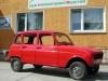 Renault R4 nach Teilrestaurierung & Komplettlackierung