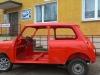 Austin Rover Mini nach Frame off Restaurierung & Ganzlackierung