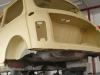 Austin Rover Mini Frame off Restaurierung